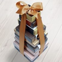 Premier Tower with Mocha Ribbon